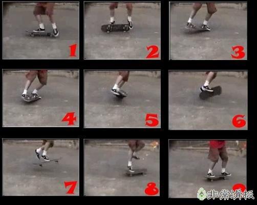 滑板零件名称图解